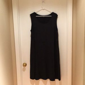 Roaman's Black Sleeveless Dress size 22/24
